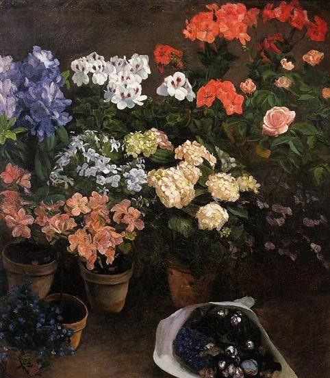 印象派画家弗雷德里克·巴齐耶作品欣赏