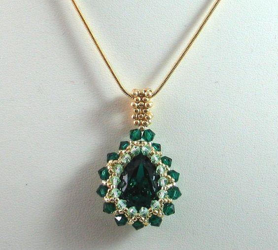 欧美串珠饰品作品和图解步骤