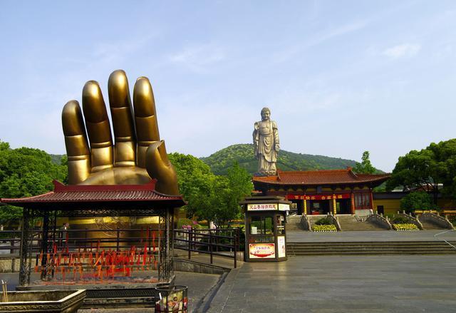 江苏一景区面积30万平,靠一尊大佛闻名全国,门票210游客却不断