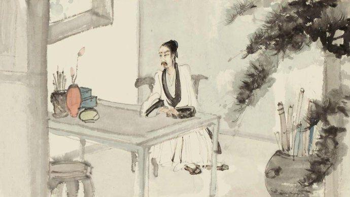 传世经典:形神兼备典雅灵动,傅抱石人物画高清欣赏