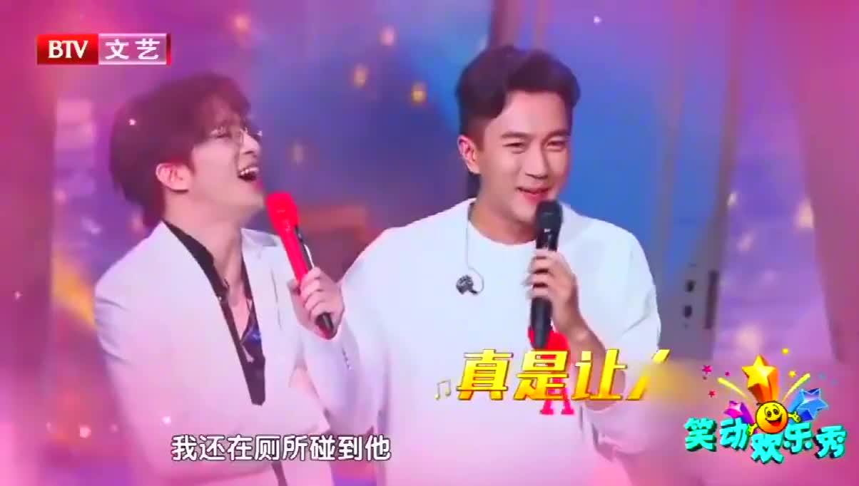 薛之谦刘恺威合作,两位男神站在台上,台下观众沸腾了