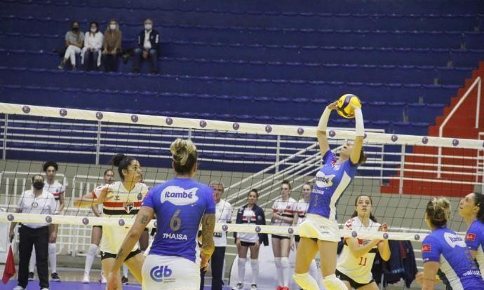 2020-2021巴西女排联赛第5轮,巴鲁埃里0-3米纳斯