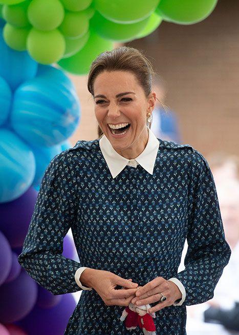 真正嫁给幸福的王妃,凯特王妃20张,看起来充满幸福的笑容照片