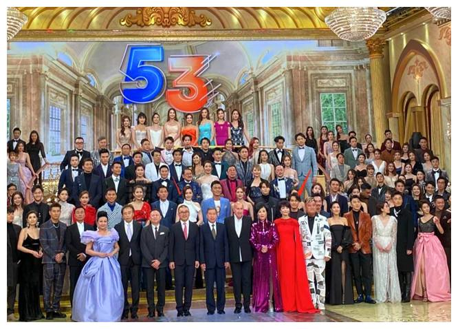 TVB台庆生图:汤洛雯显胖,63岁郑裕玲比73岁汪明荃还显老
