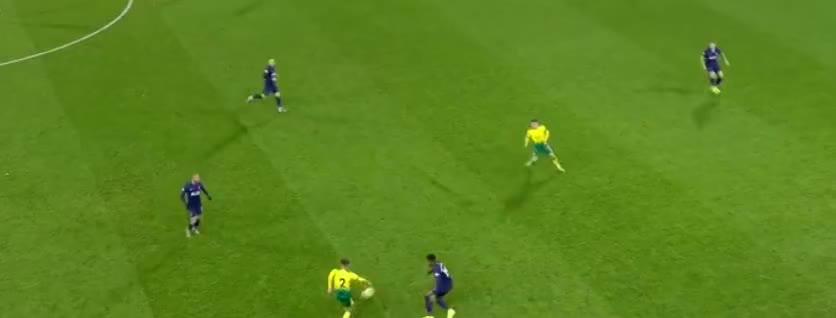 诺维奇收获进球大礼,奥里耶门前不幸自摆乌龙了