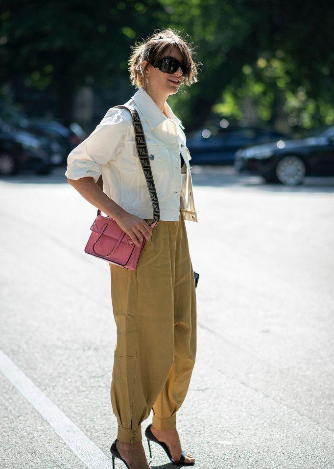 帅气不挑人的工装短外套,秋季搭配最时髦!