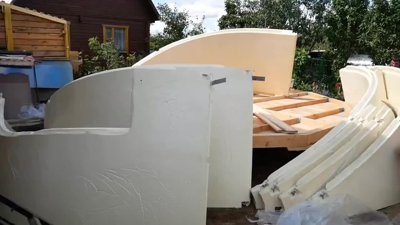 建造一栋圆形木房子这样住也太舒服了这种比混凝土的贵吗