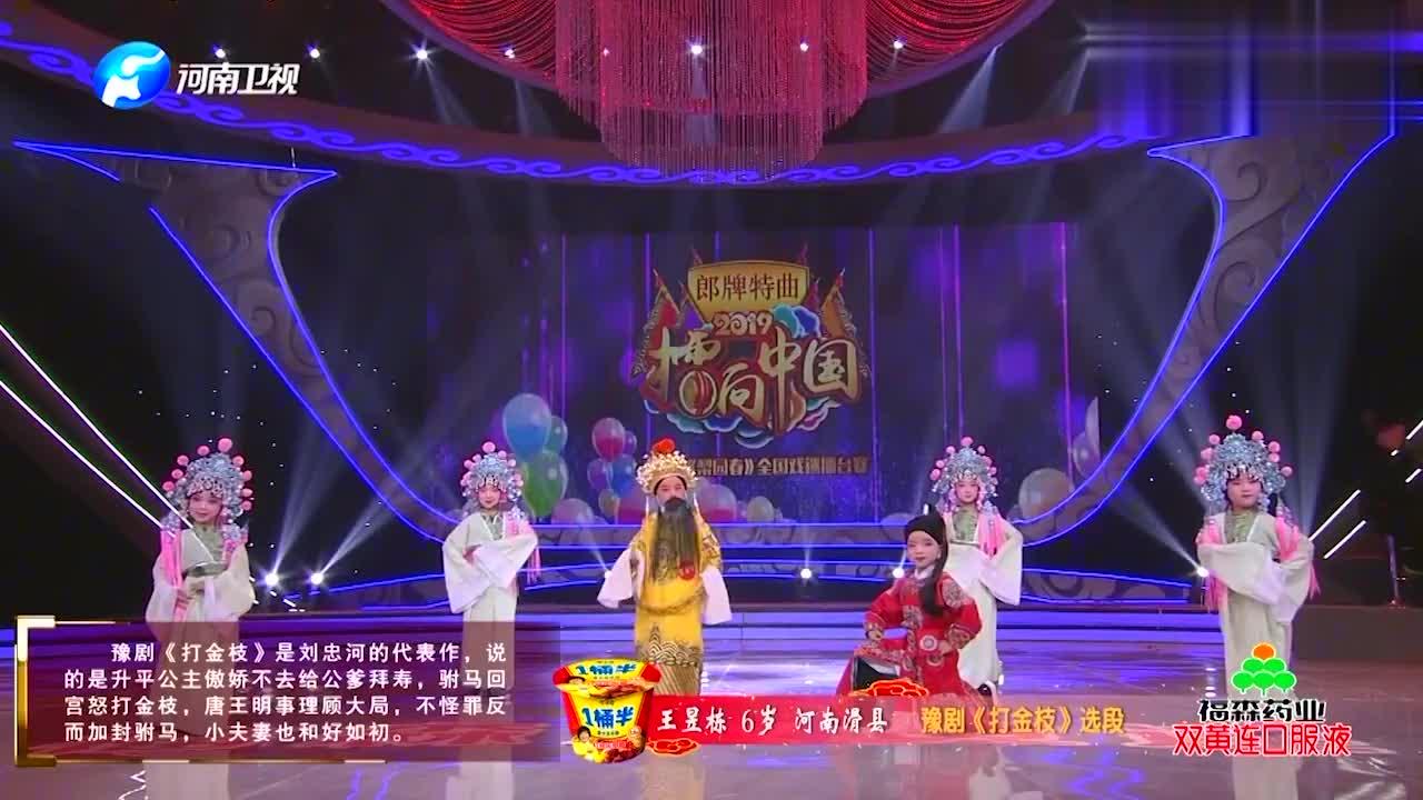 豫剧《打金枝》选段 王昱栋:你好不该把为王的江山提丨梨园春