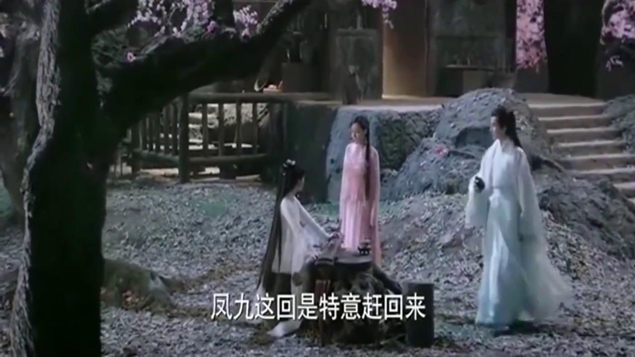 迪丽热巴饰演的凤九 娇媚可爱 连祝寿词都与众不同