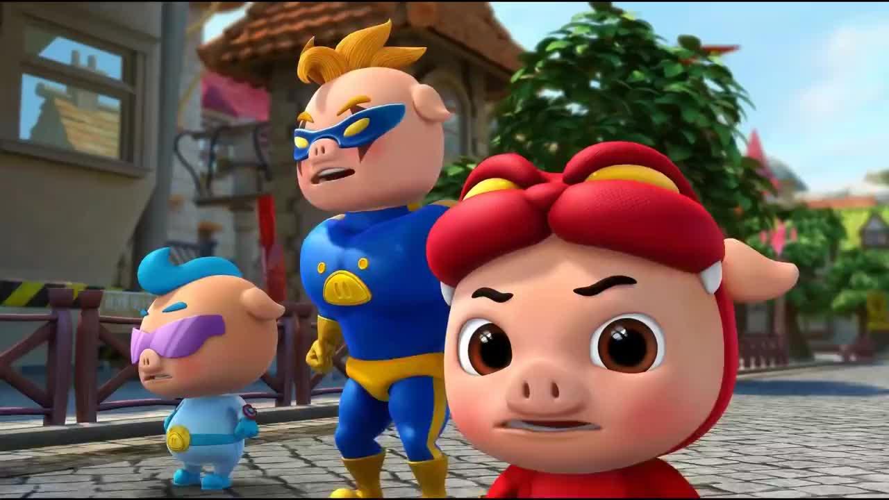 猪猪侠水晶城被黄金狮袭击市民失去梦想一个个变行尸走肉了