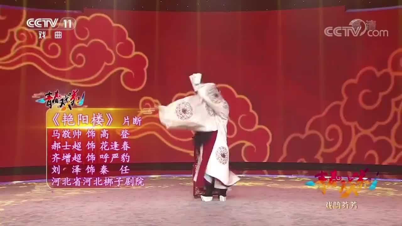 河北梆子《艳阳楼》选段,马敬帅郝士超联手,武功扎实的好演员!