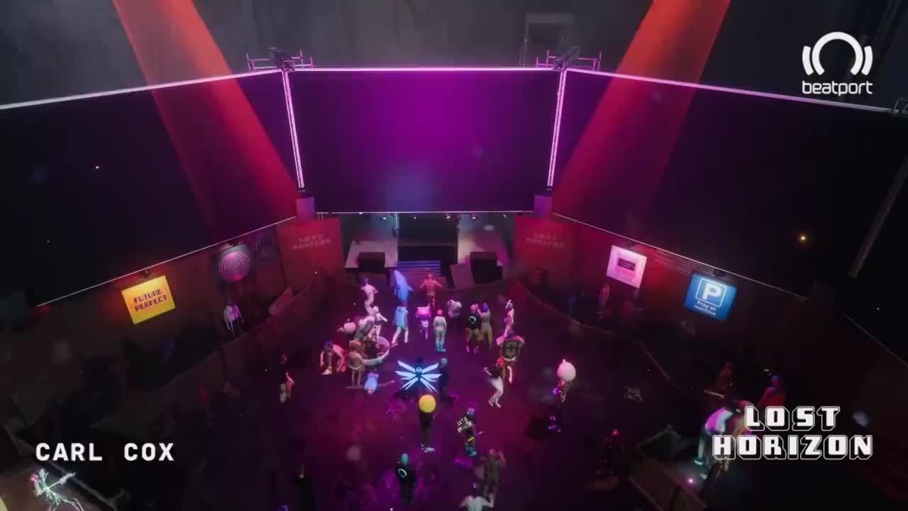 2020VR音乐节Lost Horizon 英国DJ兼制作人Carl Cox秀场(上)