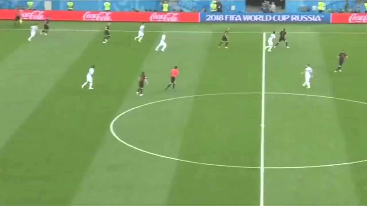 2018年世界杯,克罗地亚队令人印象深刻,小组赛三球完胜阿根廷。