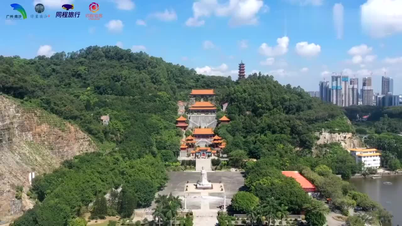 最印象南沙 第一次去广州,我来到了南沙