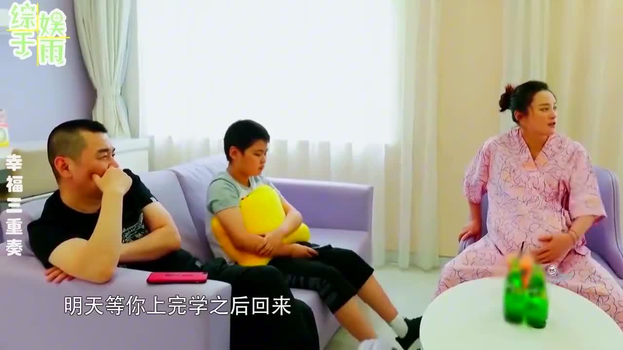 陈建斌和儿子合集,大儿子居然不知道蒋勤勤怀孕?这父子俩太逗了
