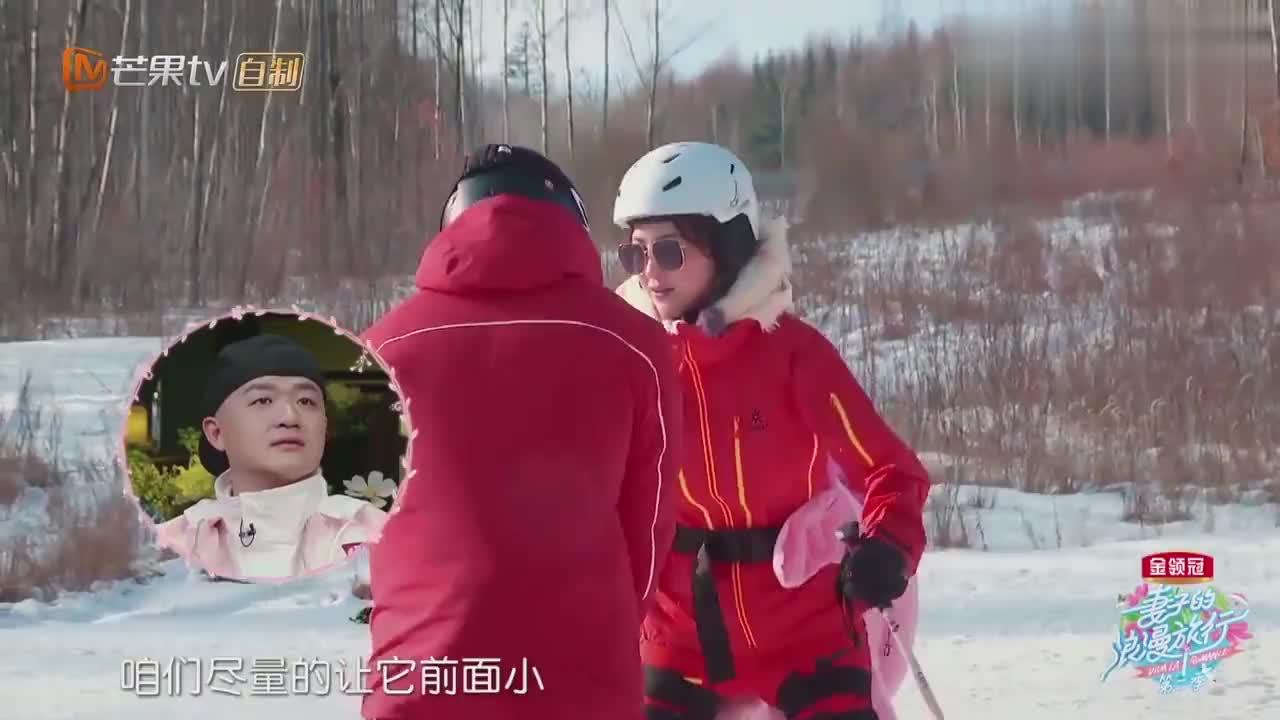 章子怡胳膊拉伤,还继续滑雪,教练:你是我教过最厉害的明星!