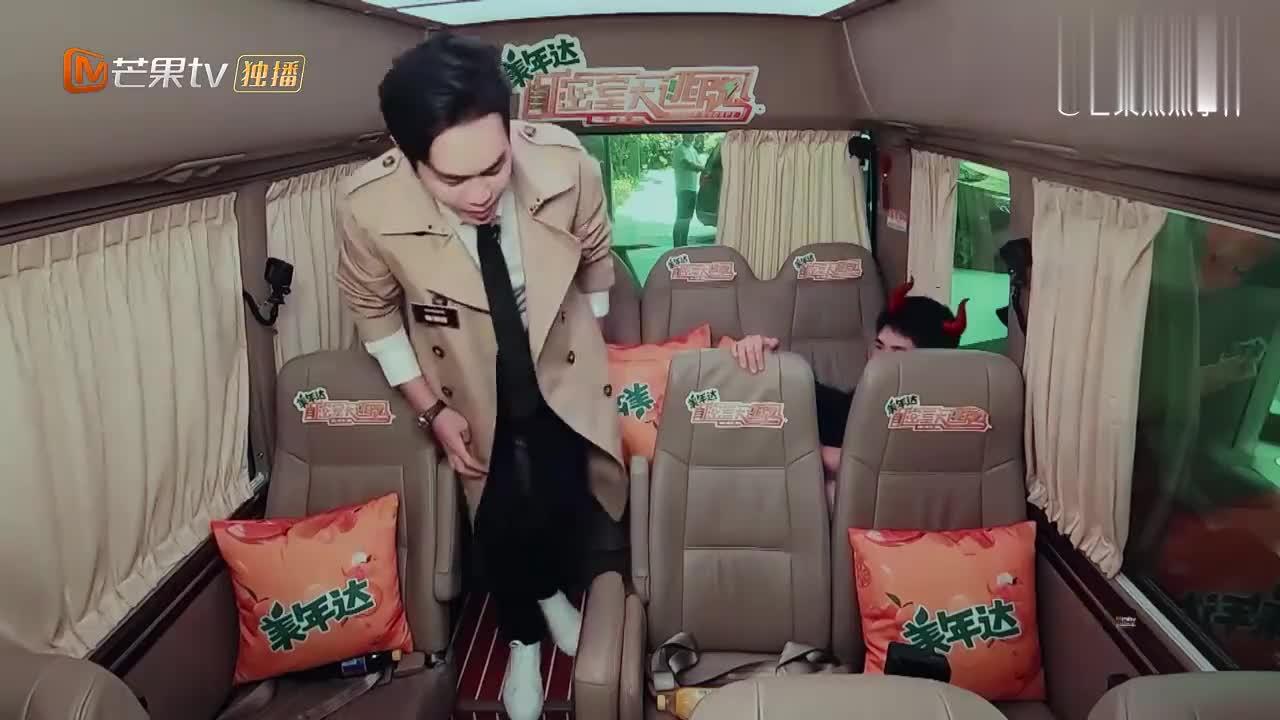 张若昀刘昊然恶搞何炅,不料何美男一出场,就识破他俩的雕虫小计