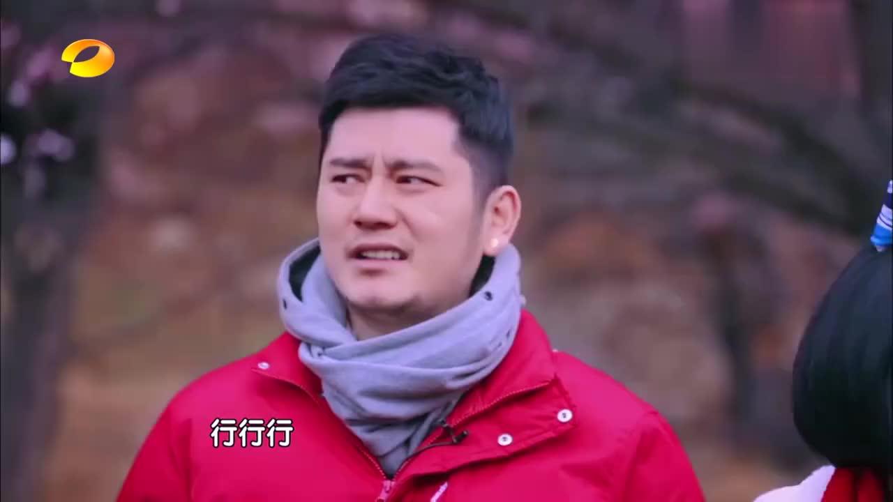 钱枫娄艺潇桃花林甜蜜幽会,超甜合影羡煞众人,枫哥要脱单了!