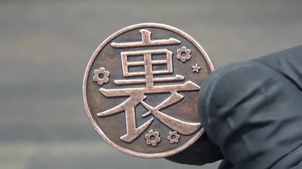 抛光打磨一枚硬币,这工艺和技术让人佩服