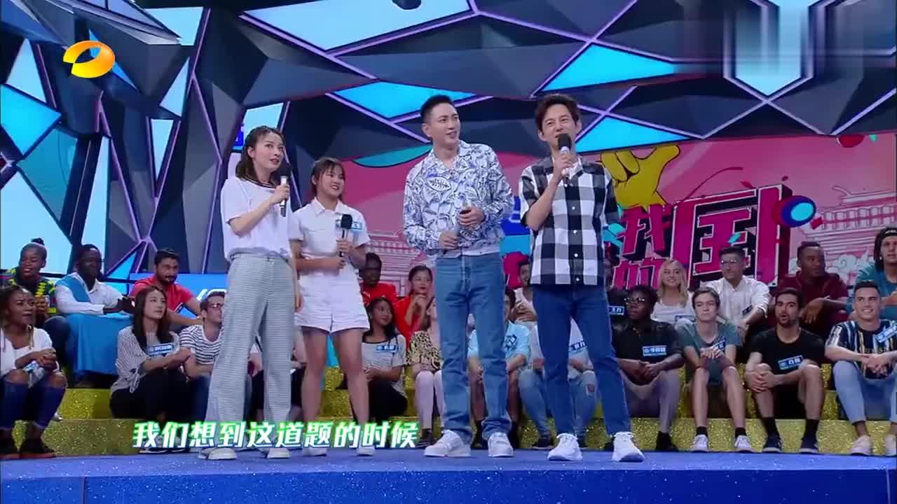 泰国妹子唱《浏阳河》,一张嘴直接被惊艳,何炅:太好听了!