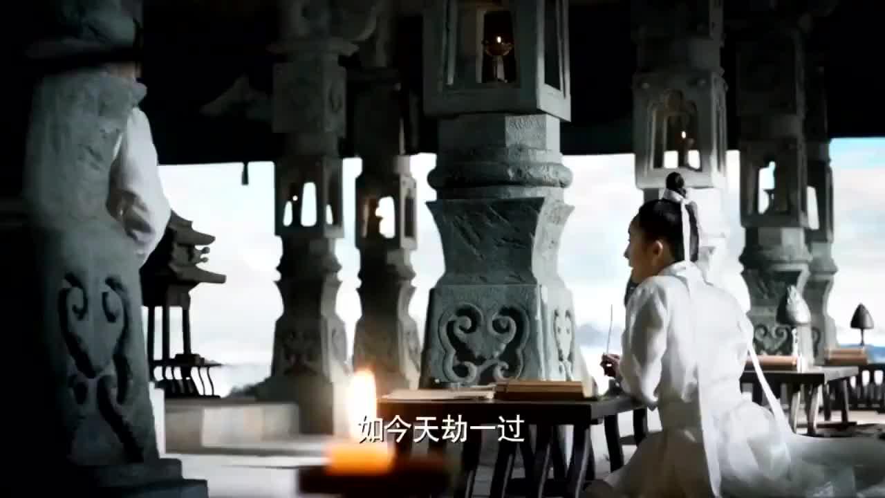 三生三世十里桃花:狐帝四子帅哥上昆仑虚找女子,女子高兴的