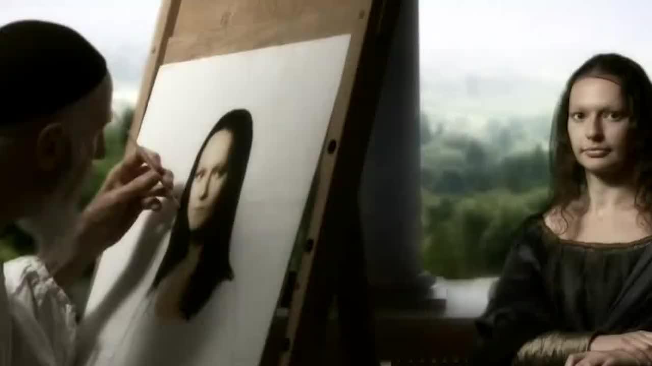 """蒙娜丽莎发现""""新秘密"""",放大100倍后,发现不是微笑!"""