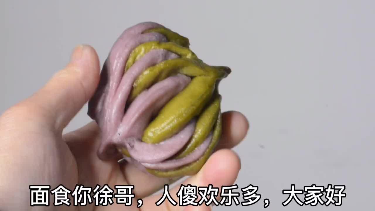 3款花样面食花卷做法简单又好看蒸后造型不走样小白上手快