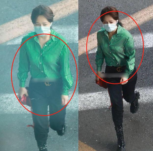 杨紫现身机场被说身材胖,粉丝晒出原图,瞬间打脸黑粉