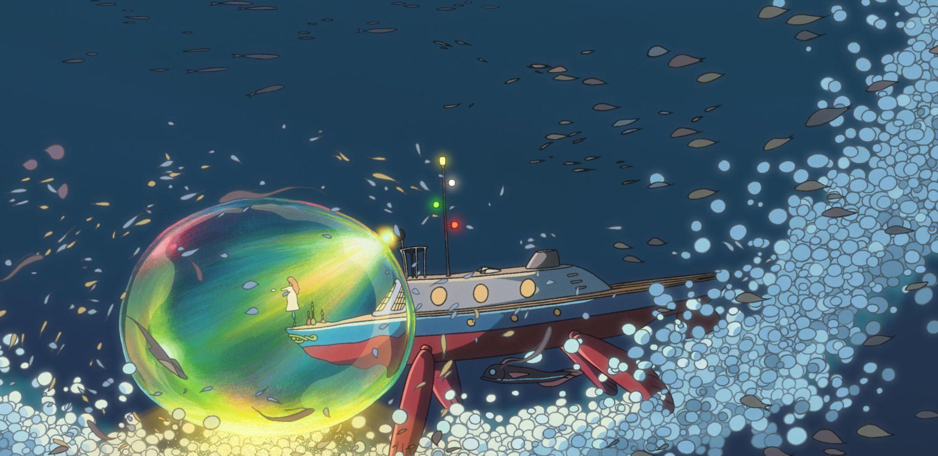 纯真、梦幻,宫崎骏献给孩子们的动画电影《悬崖上的金鱼姬》