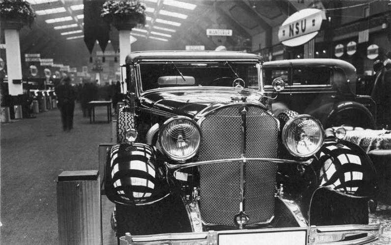 梅赛德斯奔驰770K:元首希特勒的豪华专车