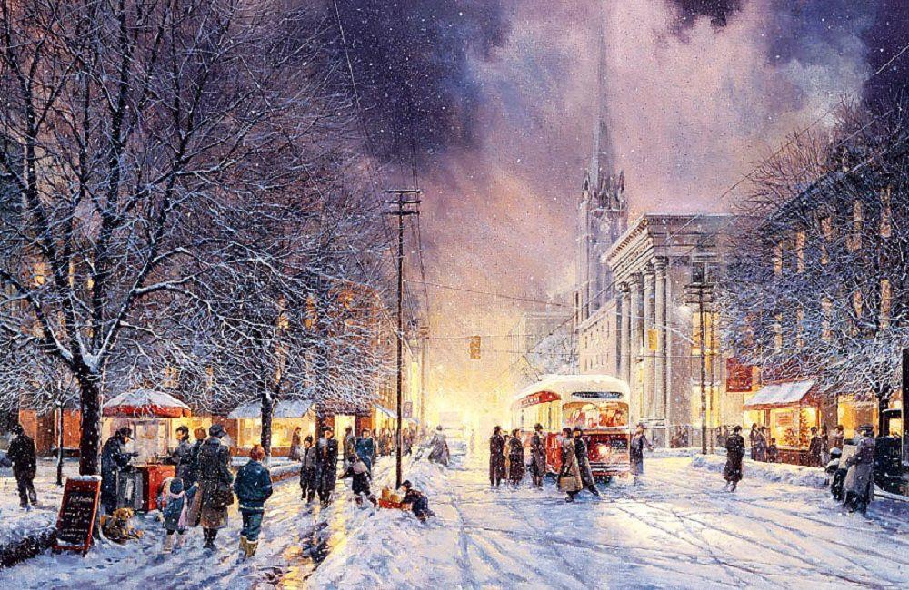 冬天已经走了,让我们怀念一下:各国艺术家画笔下不一样的冬天