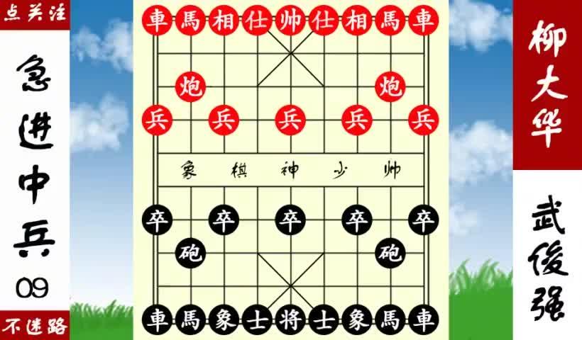 象棋神少帅:武俊强见缝插针,调转枪头,逼柳大华签城下之盟!