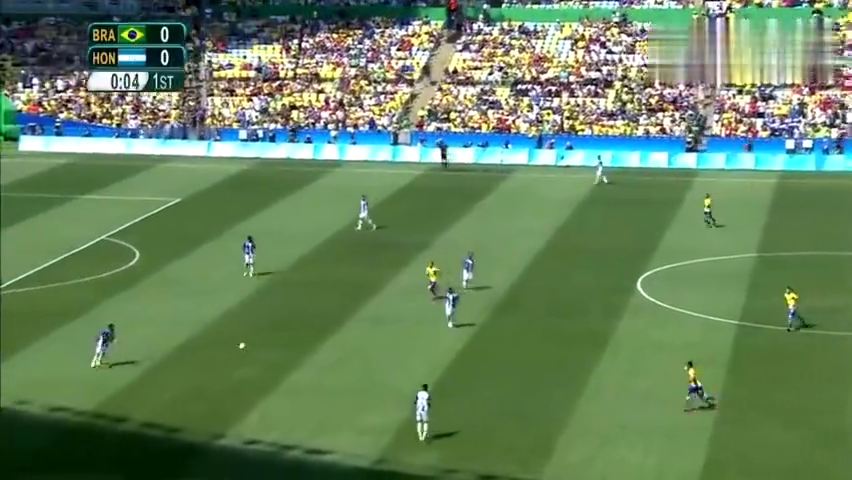 2016里约奥运会——内马尔创奥运历史最快进球仅耗时15秒
