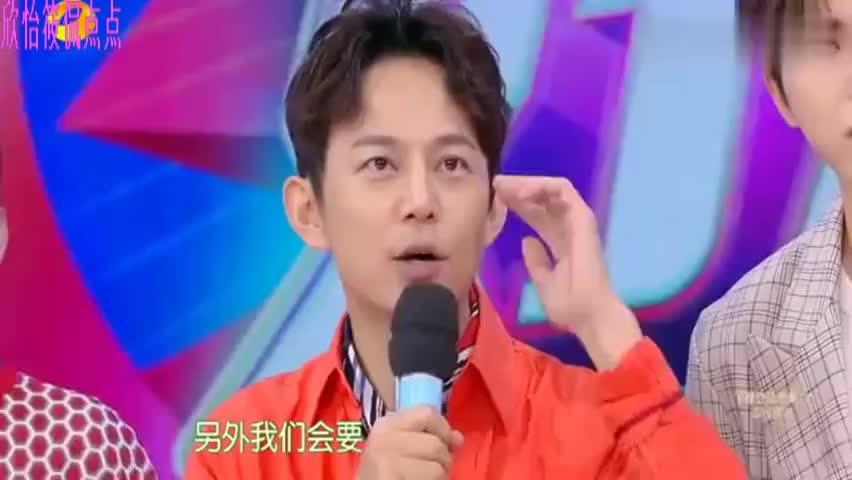 """快乐大本营:蔡徐坤展现""""凌波微步""""坤坤的小表情好可爱"""