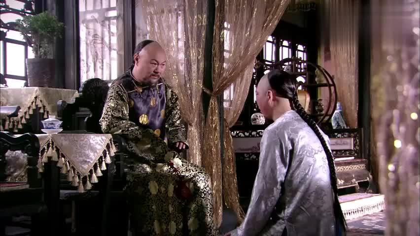 公子哥要去给小宛赔罪,父亲还叫他一定要磕出血包,已证自己清白
