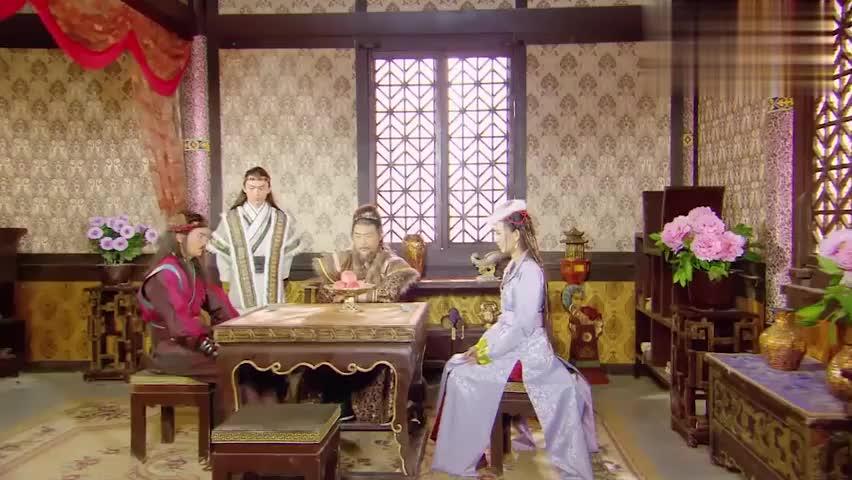 樊氏父子沾沾自喜,认为妹妹樊梨花明天下棋肯定会赢过薛丁山