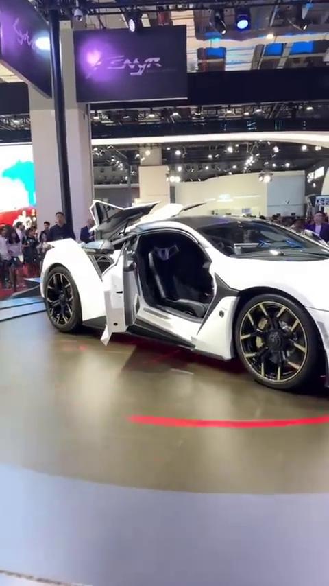 全球限量七台的超级跑车,速度与激情7同款