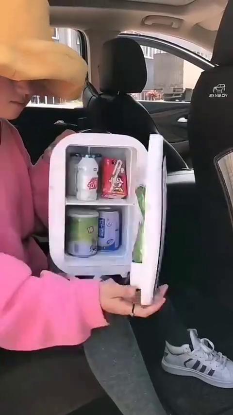 双十一挑车品,车里有了这台车载冷暖小冰箱,自驾游旅行非常实用