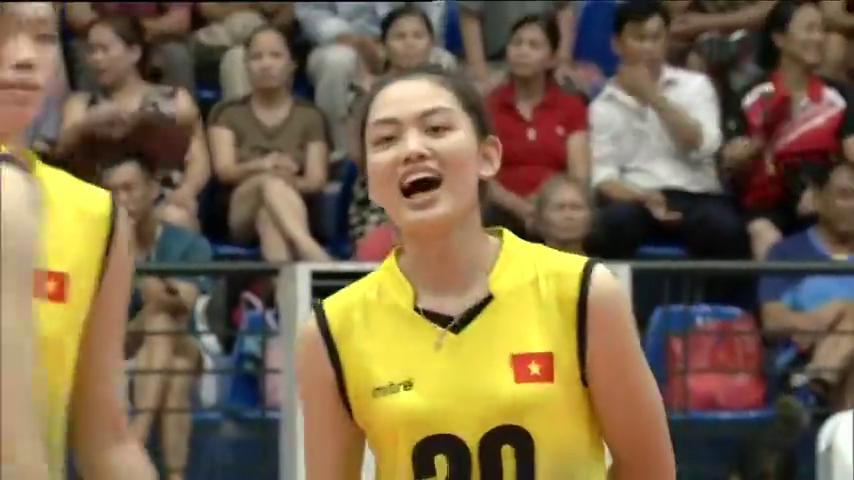 越南女排对阵泰国女排集锦,2019年亚洲U23锦标赛三四名