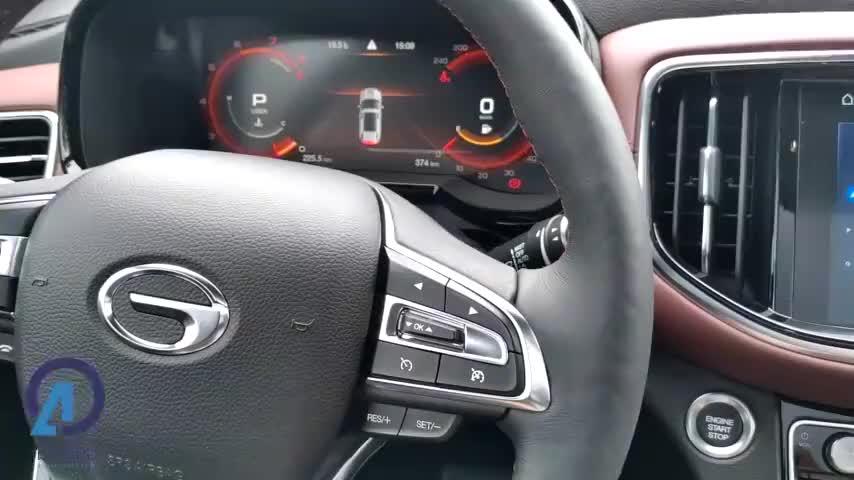 """视频:停车不再""""两眼一抹黑"""",看传祺GS8S的360°全景影像表现如何?"""