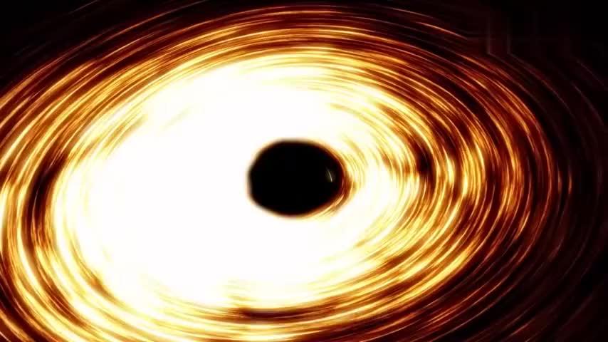 宇宙最大的黑洞,质量为太阳的400亿倍