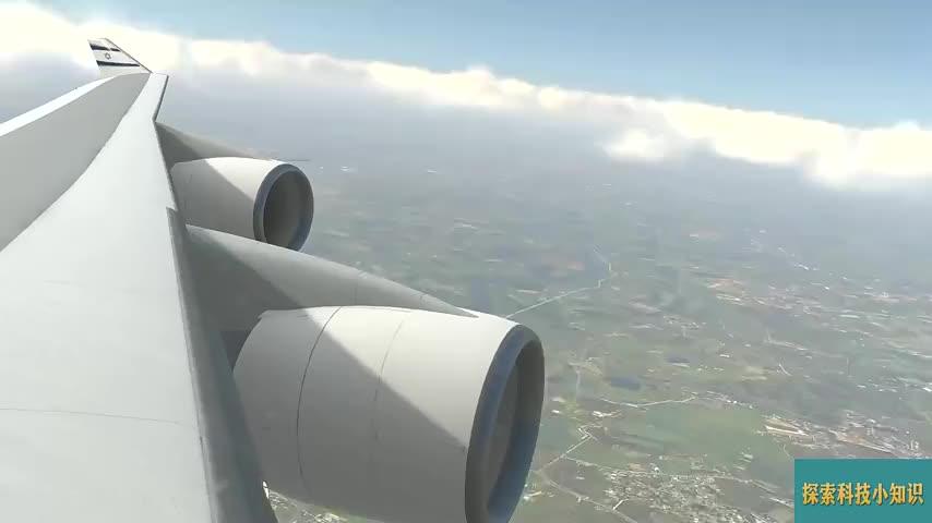 万米高空:波音747引擎熄火后,会变成一个大号滑翔机吗?