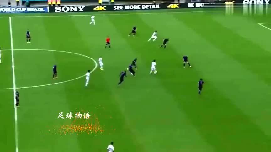 世界杯经典,荷兰5-1西班牙,还记得范佩西的飞身一跃吗?