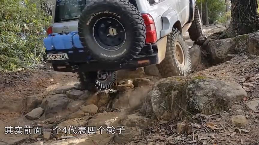 中日俄造八轮驱动汽车,这么多轮子有什么用?