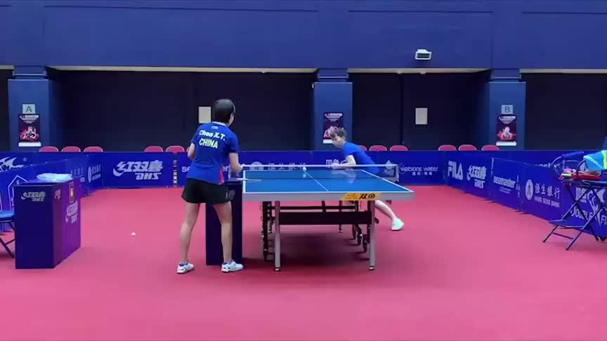 成功的背后都来自每一滴汗水的付出,国乒运动员的日常训练太感人