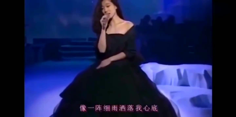 80年代日本歌姬中森明菜演唱《你的眼神》中文版