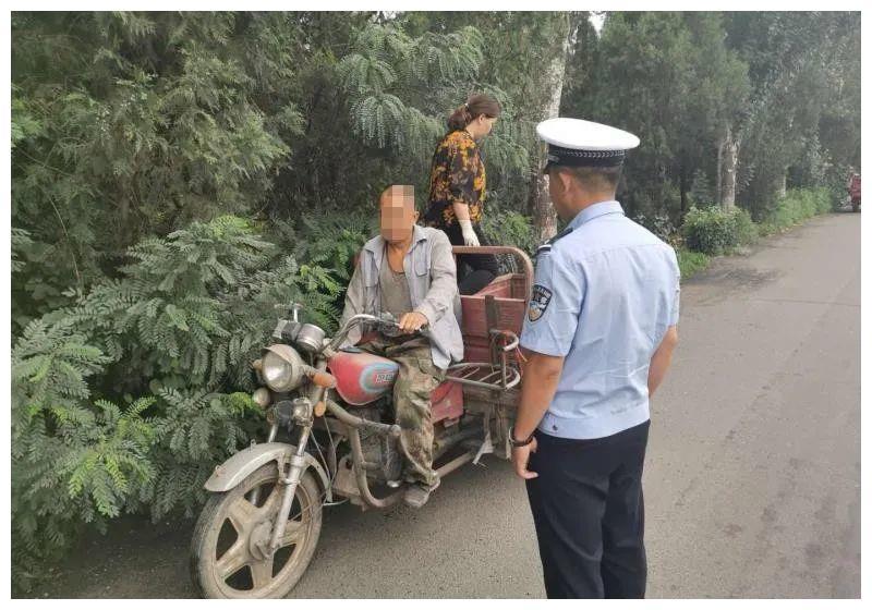 河曲三轮车司机违法载人罚款、并行政拘留3日