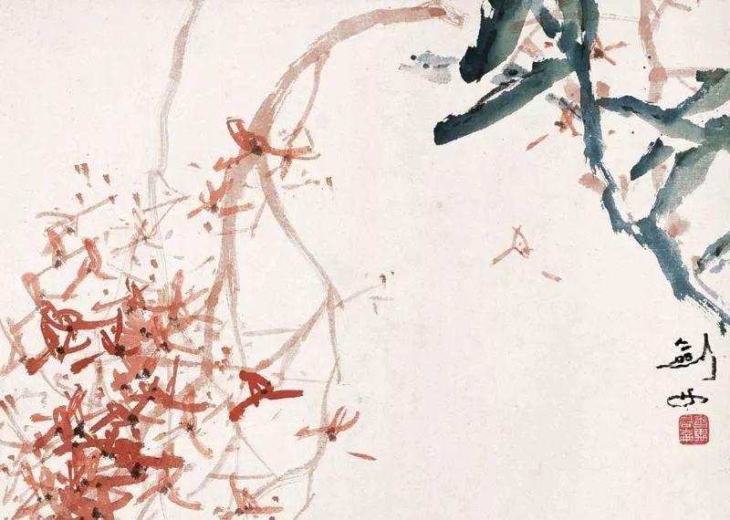 他将传统中国画与西洋画技法相融合,作品风格鲜明!