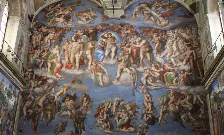 西斯廷礼拜堂——戏剧性的画面构成将我们带到了一个瞑想的世界!