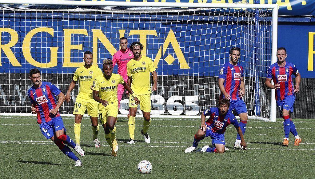 杰拉德+帕科建功,比利亚雷亚尔2-1逆转埃瓦尔,取得西甲赛季首胜